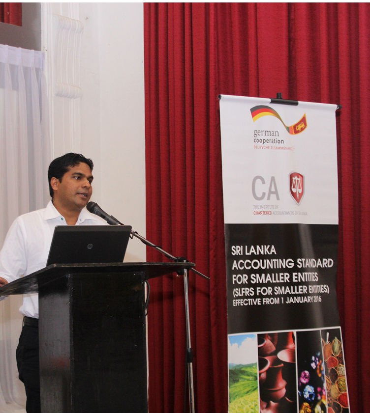 CA Sri Lanka and GIZ commences dissemination of SLFRS for Small Entities